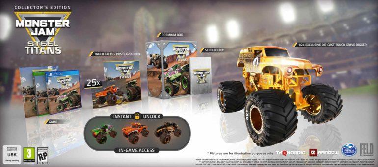 Monster Jam Preorder gioco game edizioni