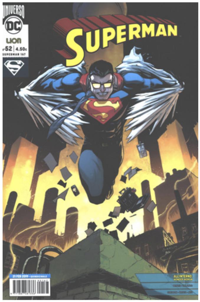 RW Edizioni - Uscite 2 marzo 2019 - Superman 52