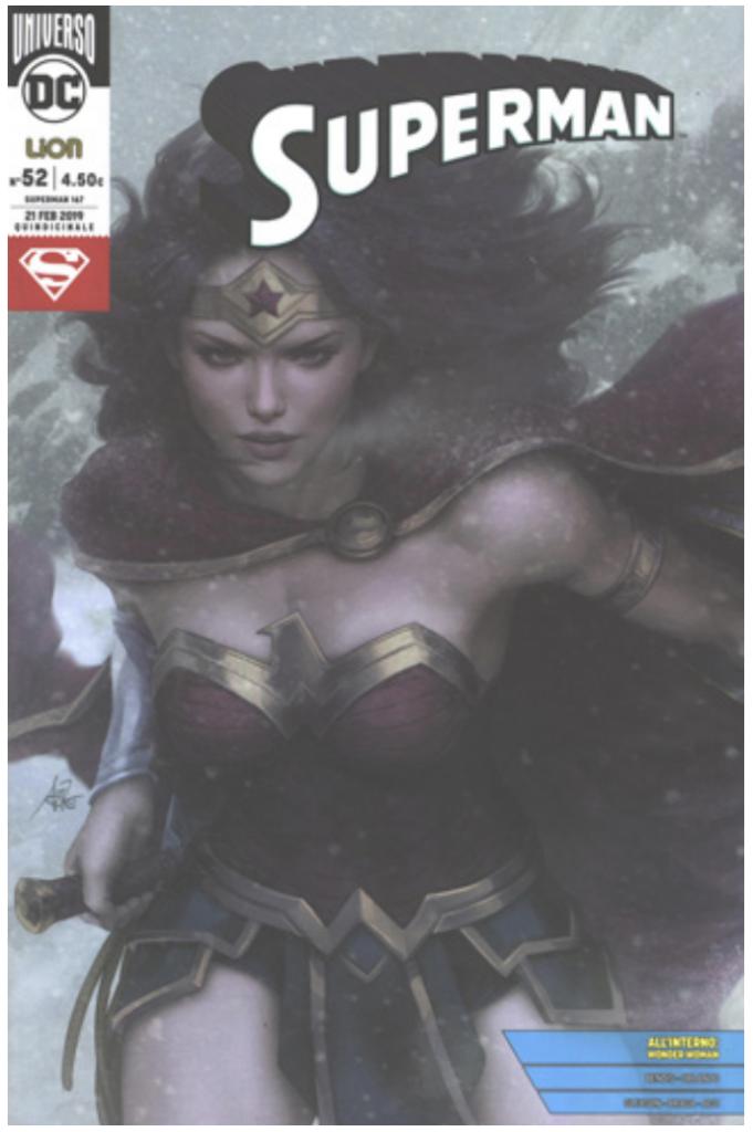 RW Edizioni - Uscite 2 marzo 2019 - Superman 52 Variant