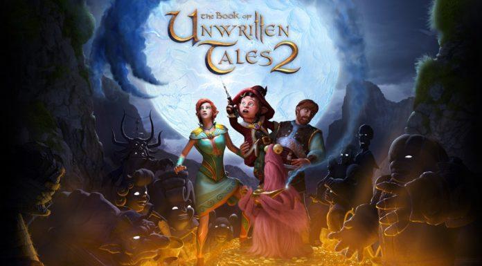 The book of unwritten tales 2 punta e clicca gioco puzzles enigma avventura fantasy nintendo switch