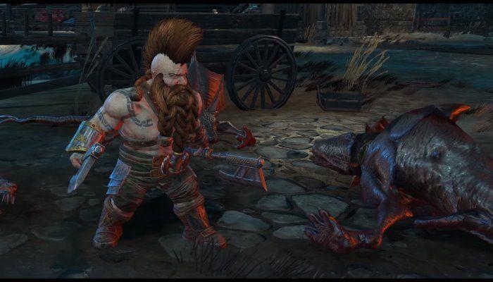 wharhammer: chaosbane nano slayer bragi gameplay video PC PS4