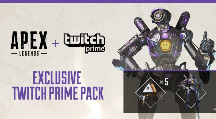 apex legends regala con twitch prime una skin e 5 apex packs