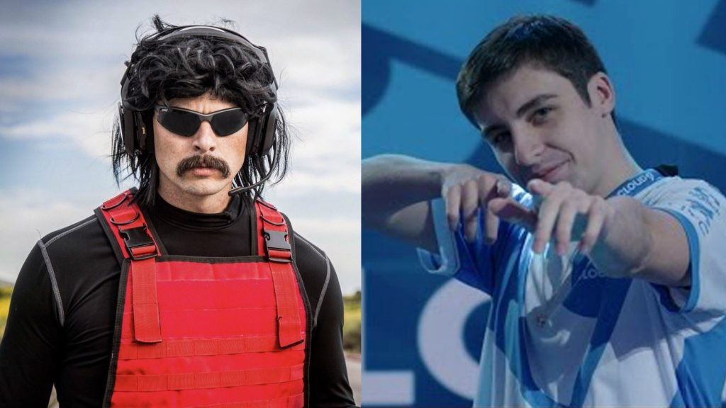 drdisrespect shroud streamers stream apex legends challenge orario twitch rivals