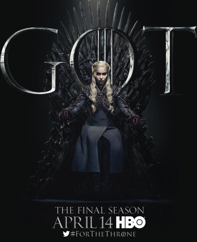 Game of thrones - Daenerys Targaryen (Emilia Clarke) - il Trono di Spade