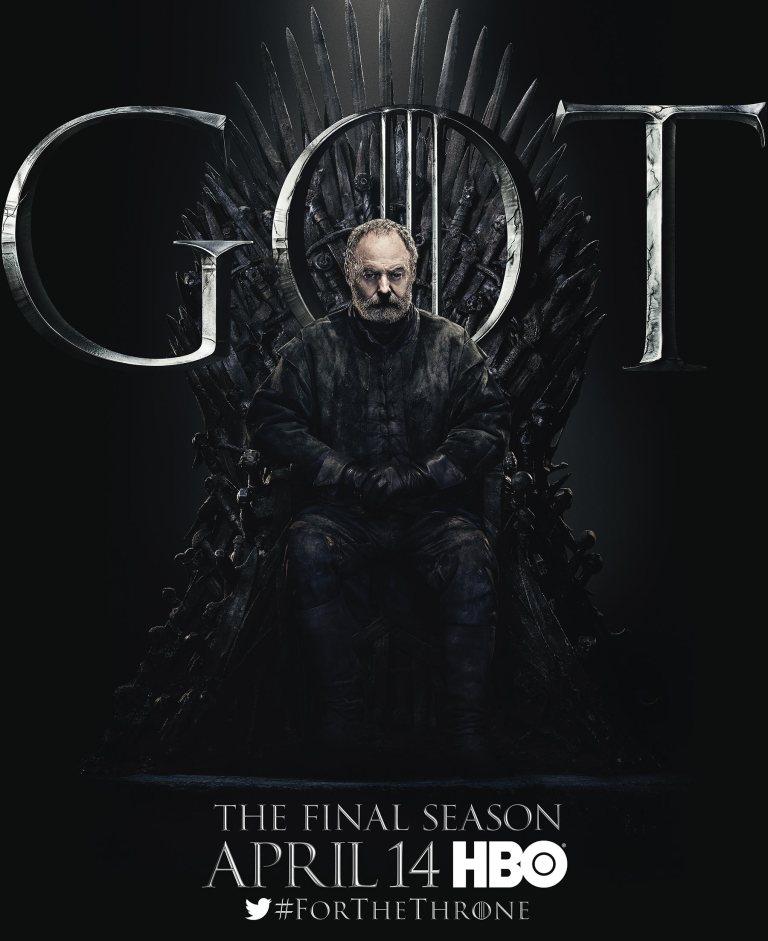 Game of thrones - Ser Davos Seaworth (Liam Cunningham)