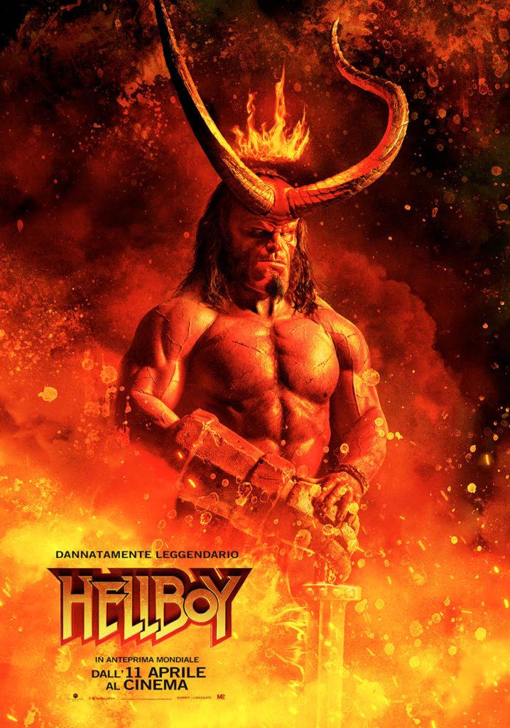 Hellboy: rilasciato un nuovo red band trailer!