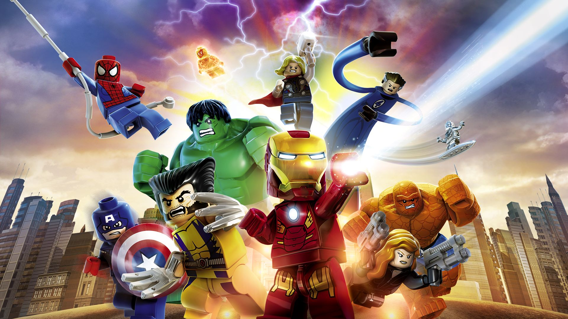 Annunciato LEGO Marvel Collection per PS4 e Xbox One