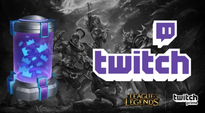 League of Legends gratis twitch prime skin