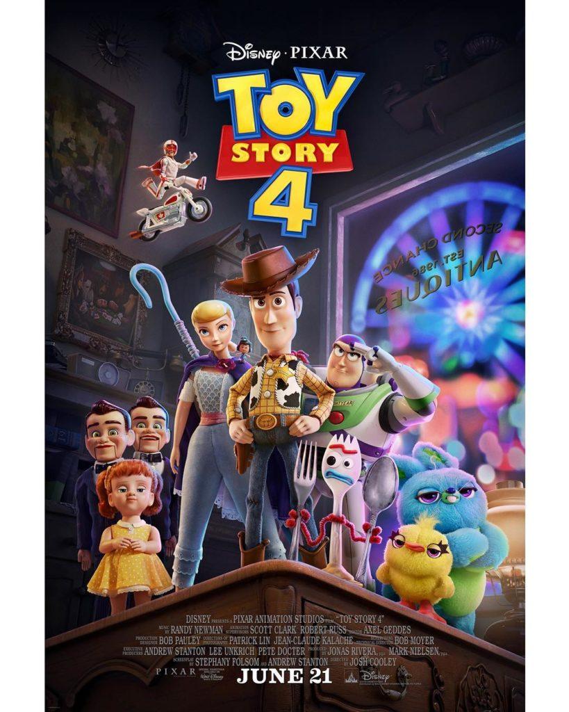 Toy Story 4 - Disney Pixar - poster e trailer