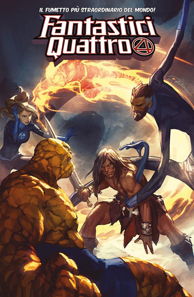 Fantastici Quattro 4 - Variant Conan