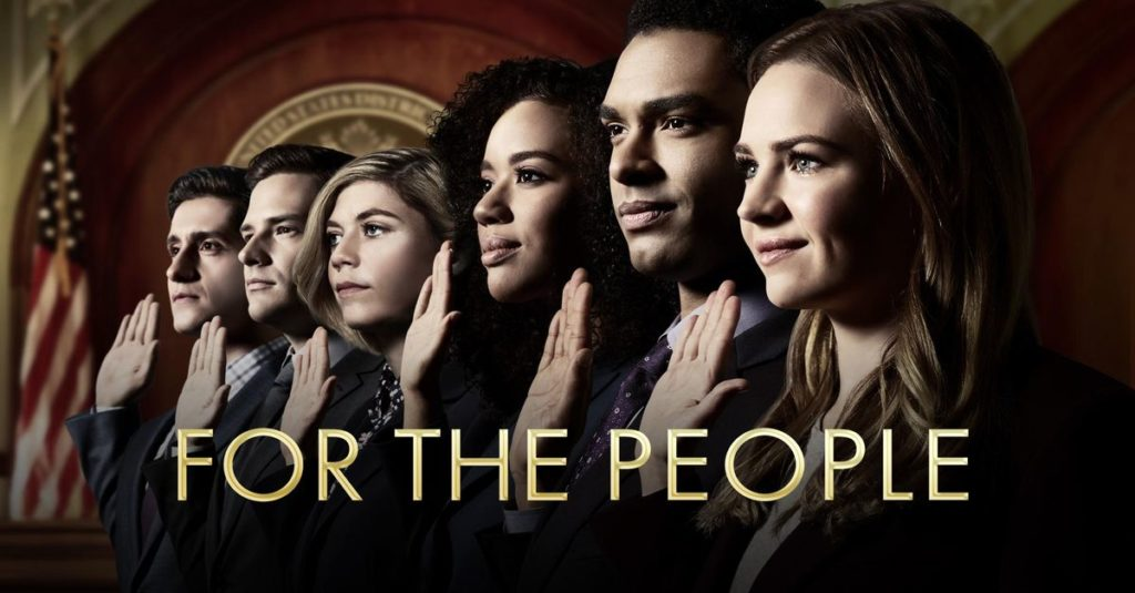 For The People ABC season premiere serie tv USA