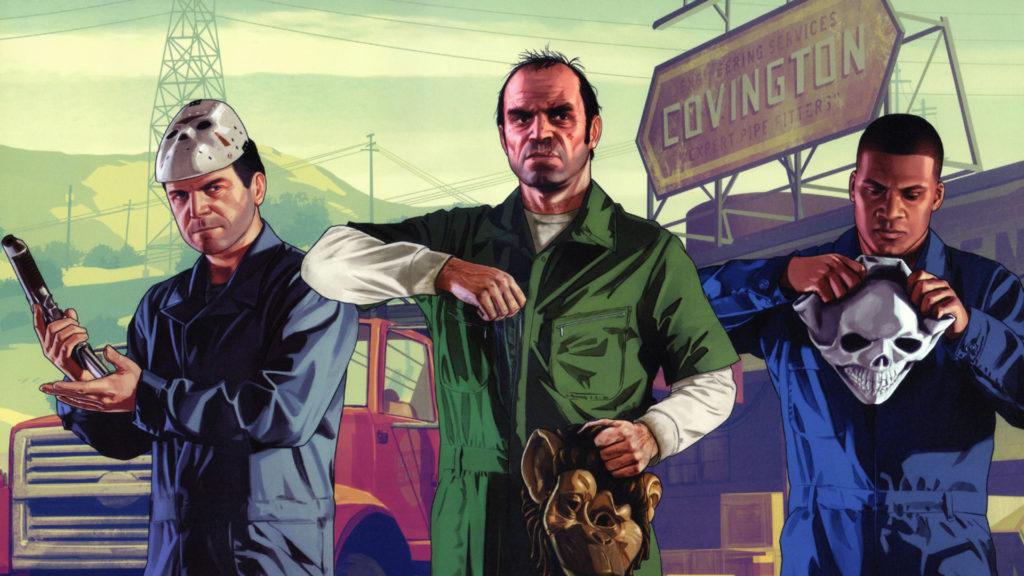 GTA V Gratis Epic Games Store