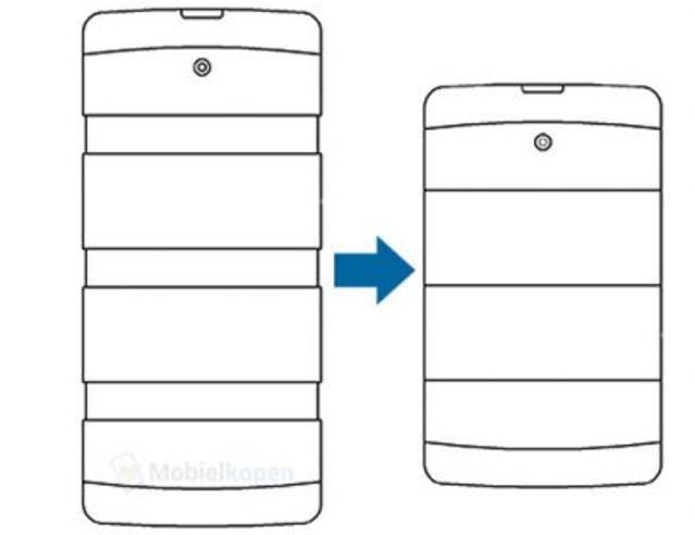LG Smartphone allungabile brevetto
