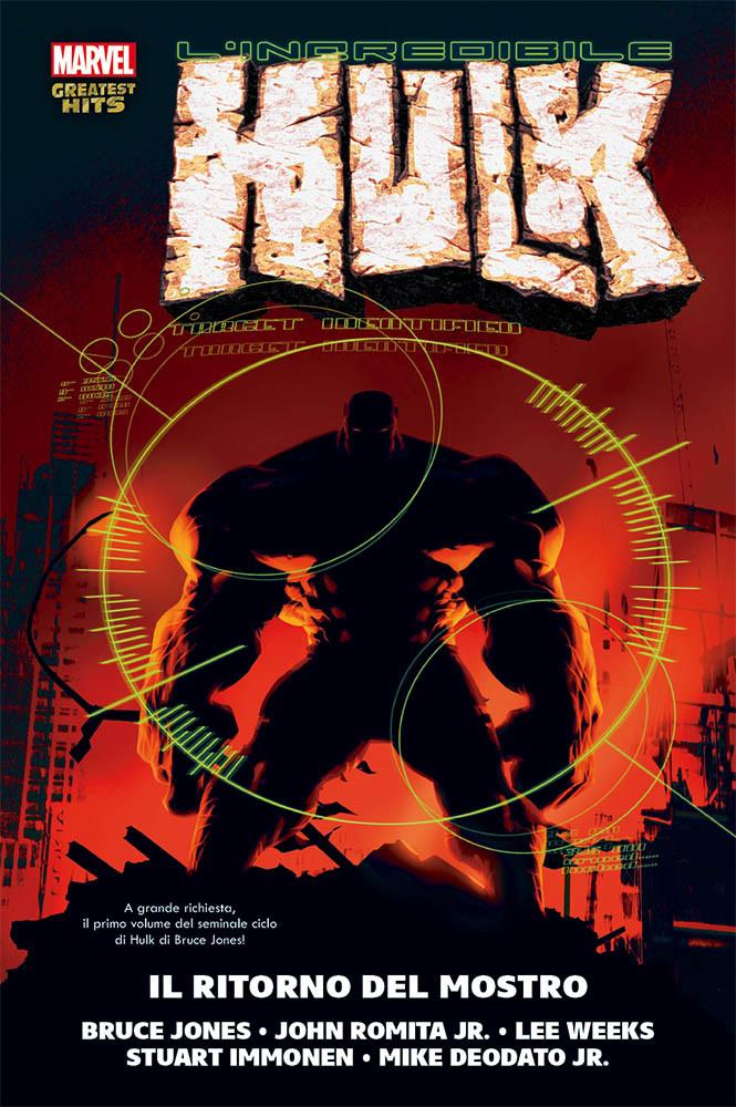 L'Incredibile Hulk di Bruce Jones 1 - Il ritorno del mostro