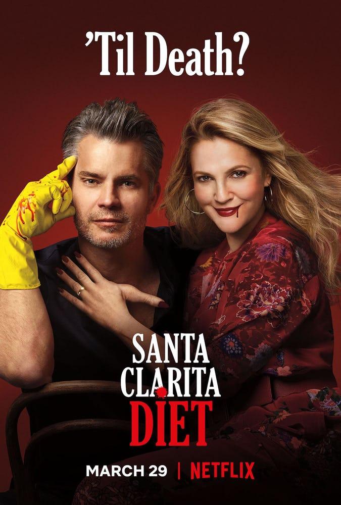 santa clarita diet su netflix: trailer e poster della terza stagione della serie.