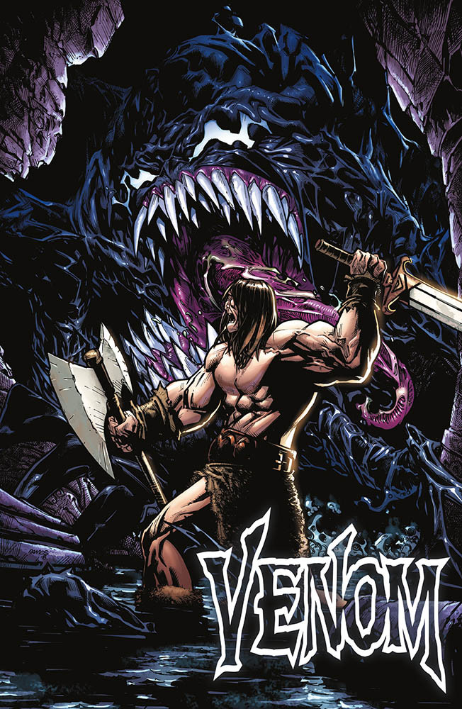 Venom 8 - Variant Conan