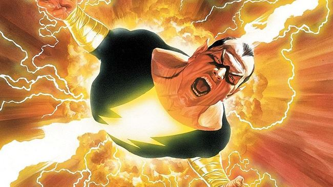 black adam dwayne johnson dc comics
