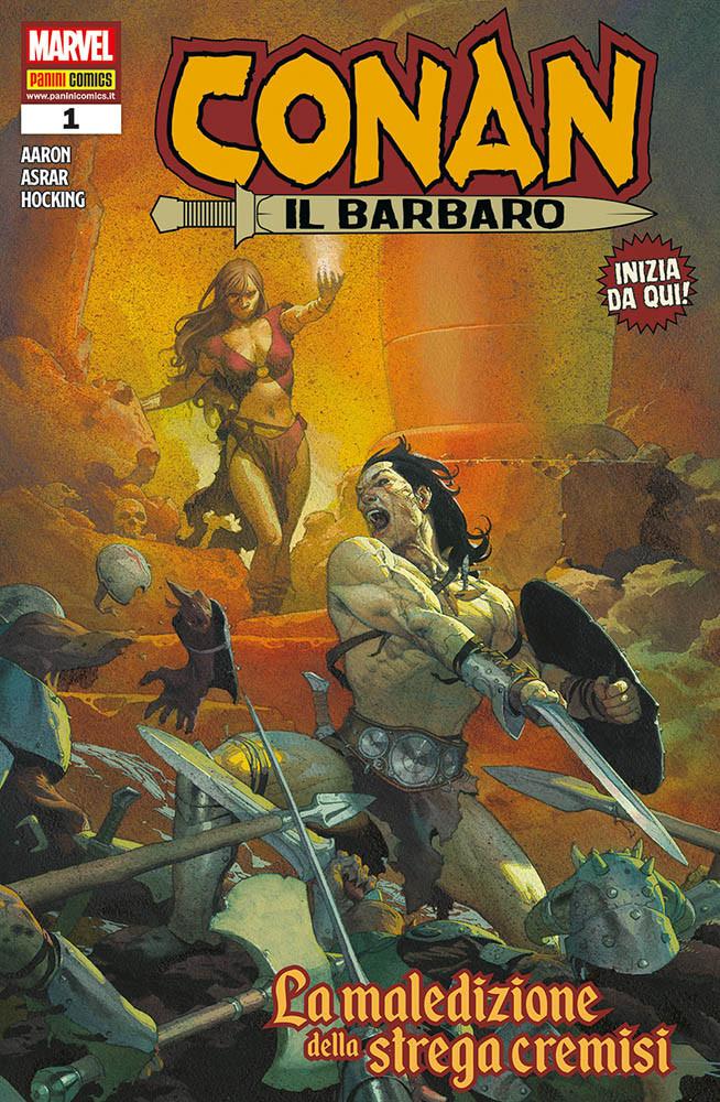 Conan il barbaro 1 - Panini Comics: annunciate le uscite Marvel del 14 marzo 2019