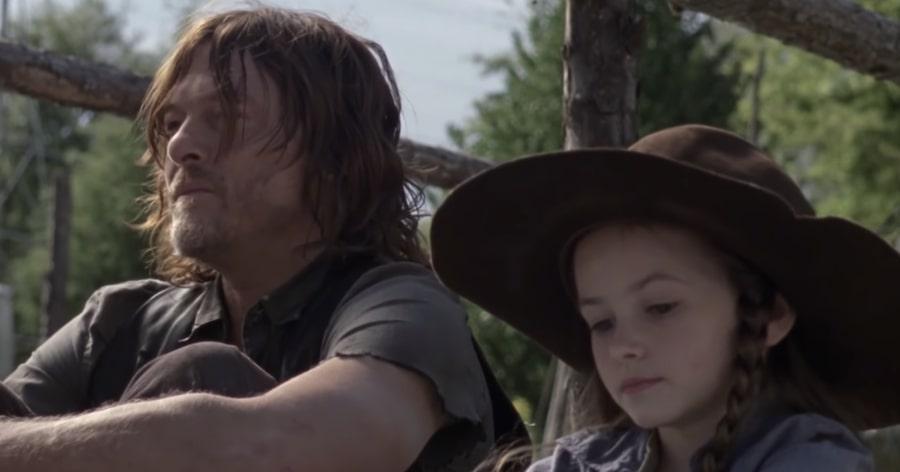 """Daryl e Judith (Credits: AMC) - The Walking Dead 9×14: """"Cicatrici"""", cosa è successo nel nuovo episodio"""
