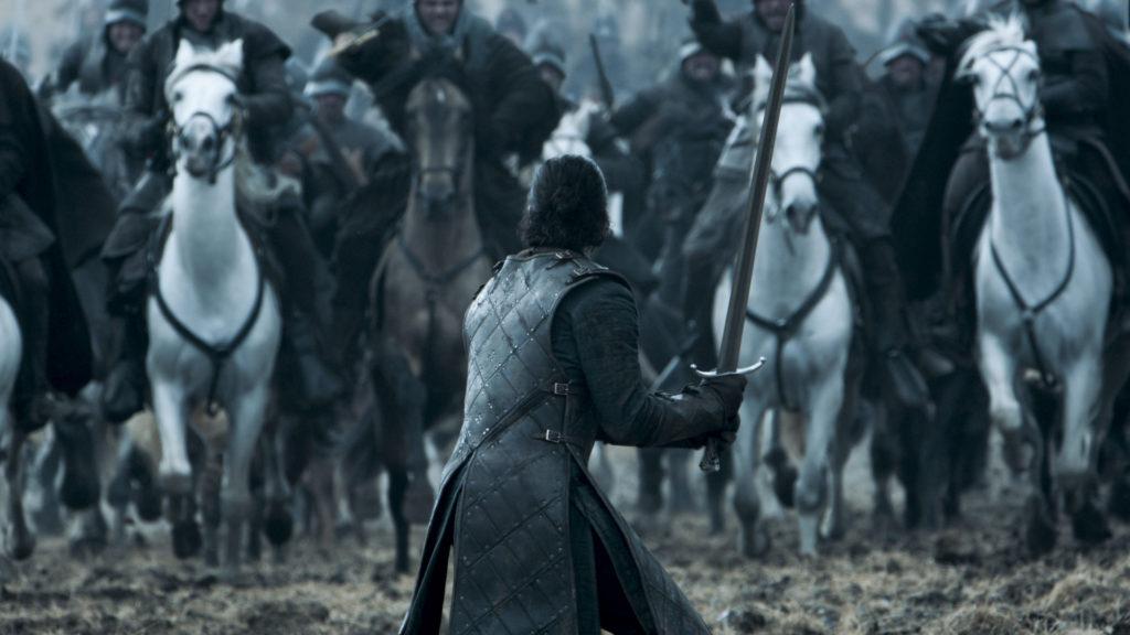 "Game of Thrones: una scena de ""La Battaglia dei Bastardi"""