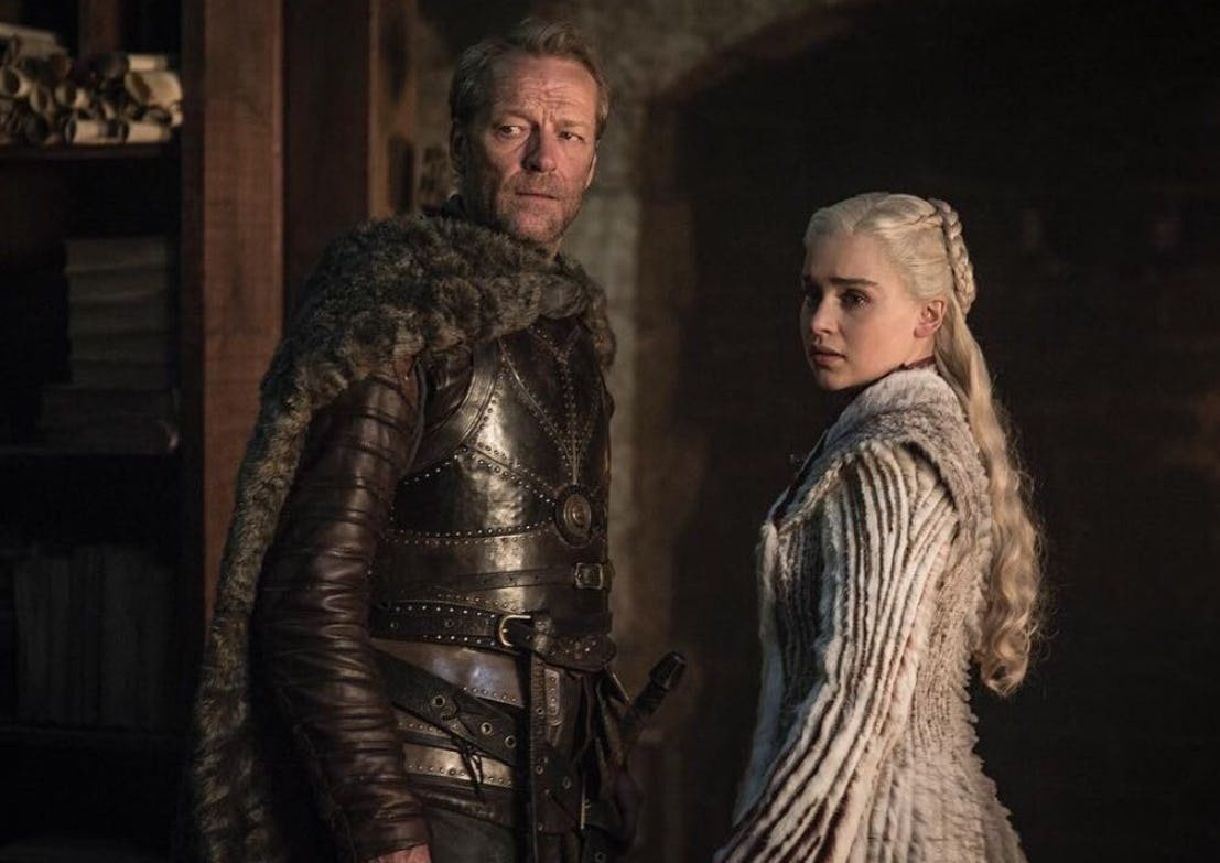Daenerys e Jorah - Game of Thrones 8