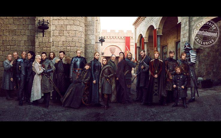 Game of Thrones 8: EW pubblica i ritratti dei personaggi