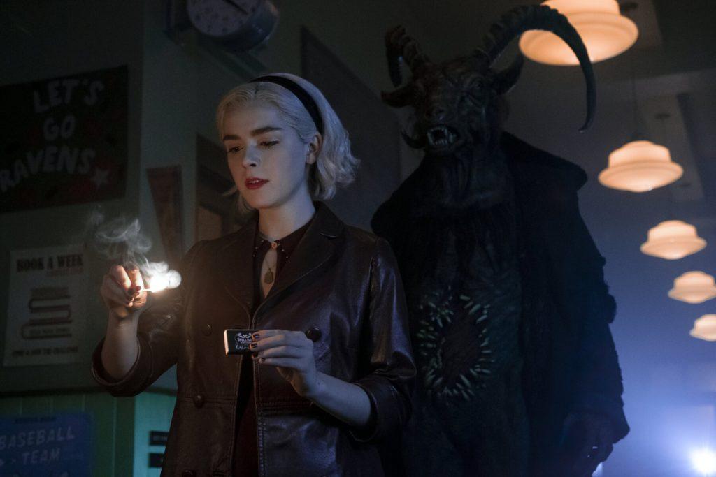 le terrificanti avventure di sabrina 2 - netflix sabrina spellman - aprile - immagini ufficiali