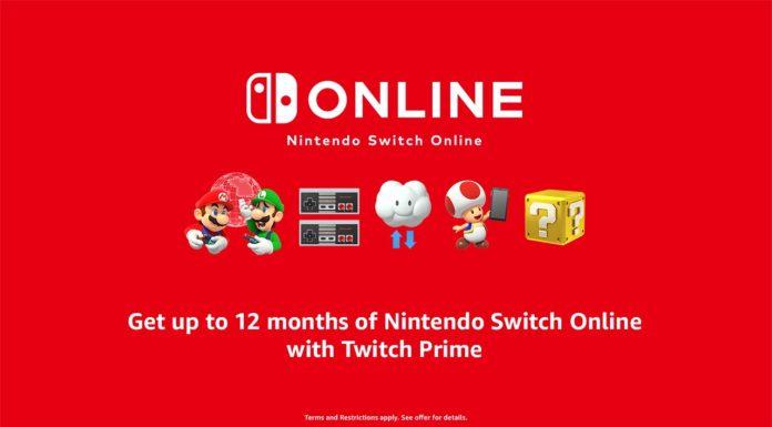 Nintendo Switch Online Twitch Prime