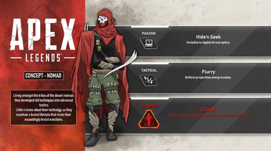 Apex Legends Nomad Concept Leak