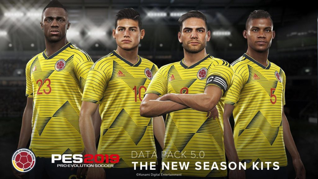 Colombia Kit PES 2019 Data Pack 5.0