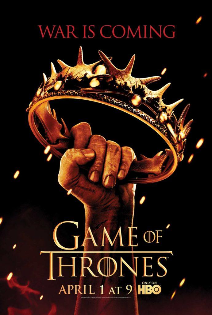 Game of Thrones (il trono di spade): Il poster della seconda stagione  - Riassunto