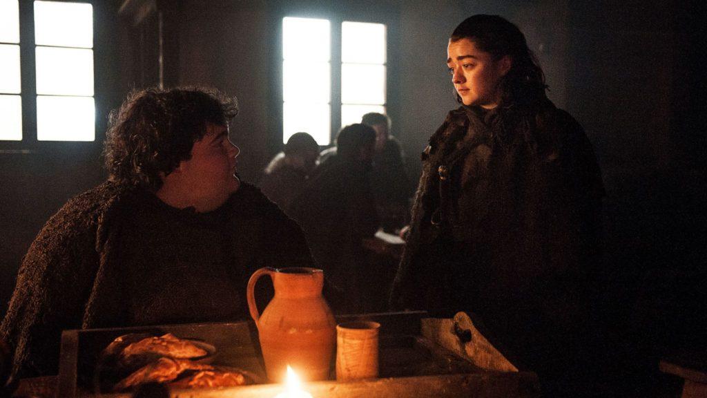 L'incontro tra Arya e Frittella