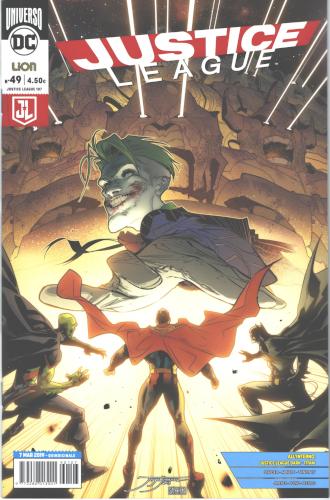 JUSTICE LEAGUE 49 - RW Edizioni: annunciate le uscite DC Comics del 13 aprile 2019