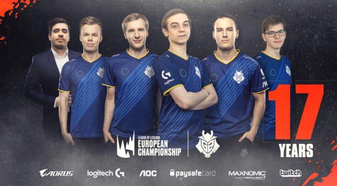 LEC G2 Esports Roster