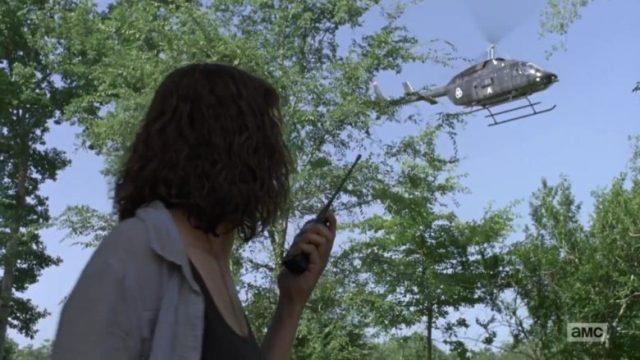 The Walking Dead: la storia proseguirà in Fear The Walking Dead 5 - Rick Grimes Elicottero