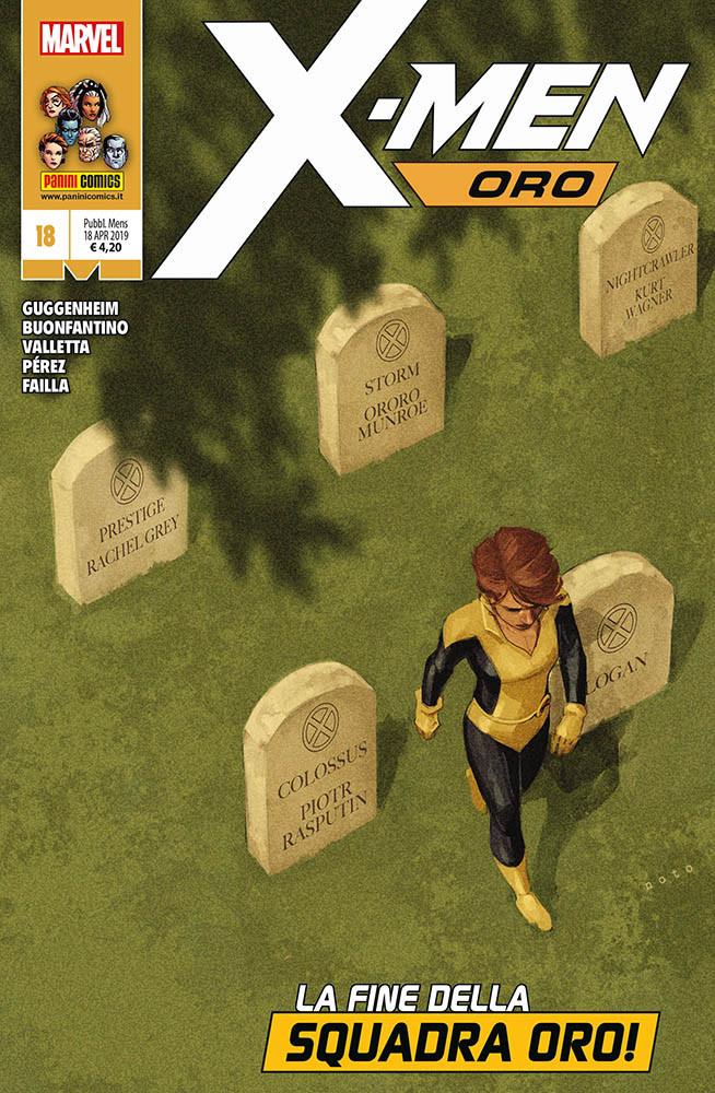X-Men Oro 18