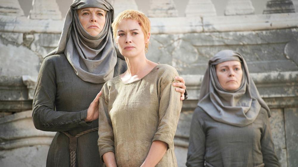 "Cersei e la ""walk of shame"" in Game of Thrones (Credits: HBO)"