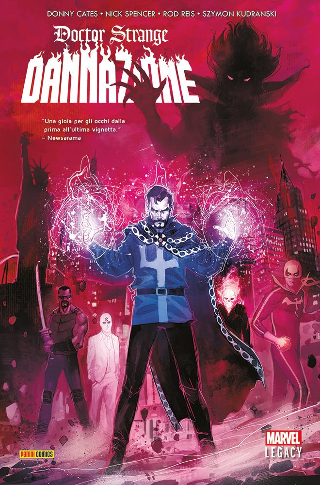 Doctor Strange – Dannazione - Panini Comics: annunciate le uscite Marvel del 11 aprile 2019