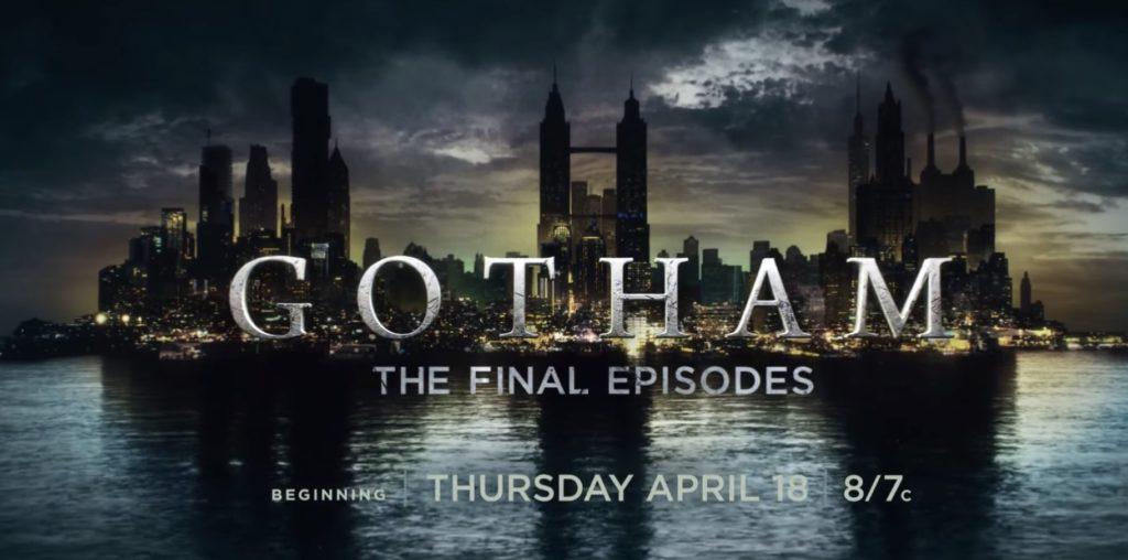 Gotham puntata finale 5x11 - 5x12