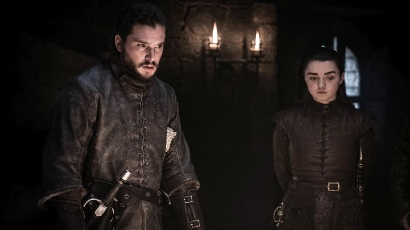 Jon e Arya