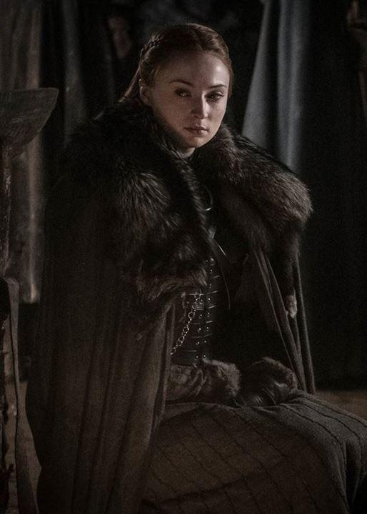 Sansa Stark nelle cripte di Grande Inverno