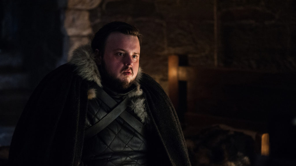 Game of Thrones: Samwell Tarly - Trono di Spade Sam Tarly