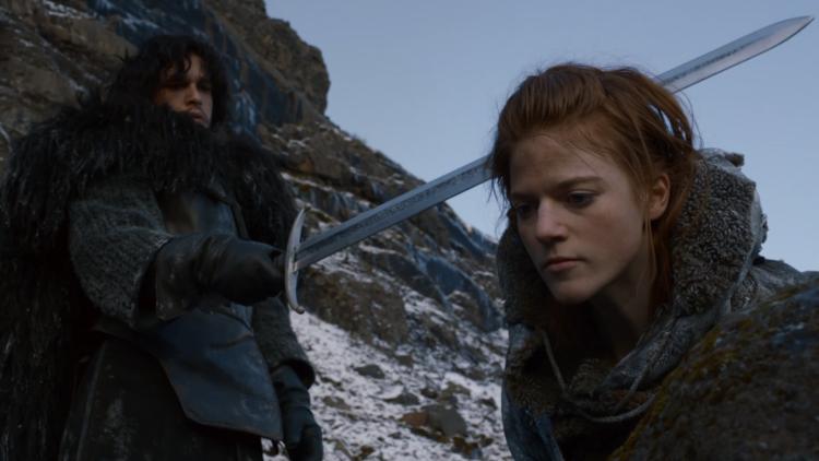 Jon Snow ed Ygritte