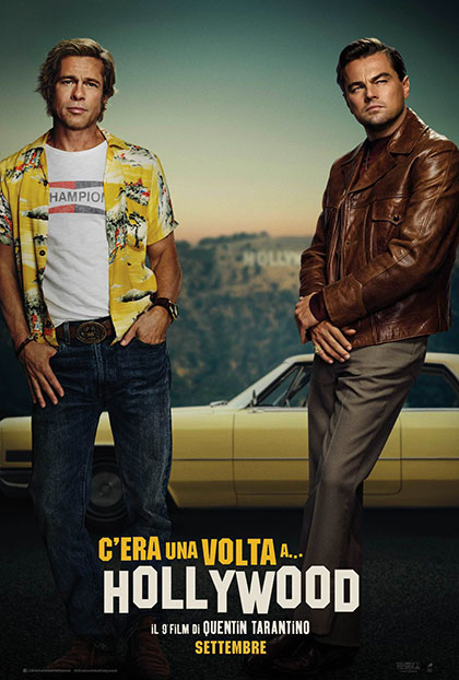 Once Upon A time in Hollywood - Tarantino - Leonardo DiCaprio - Luke Perry