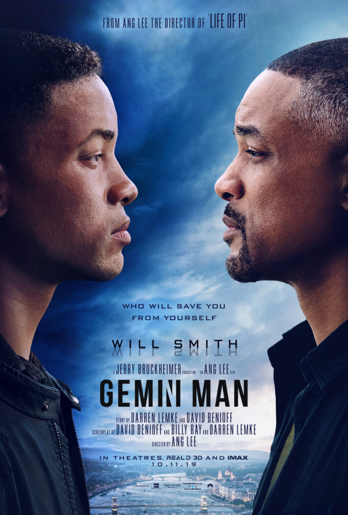 film Gemini Man - Will Smith thriller by Ang Lee - trailer