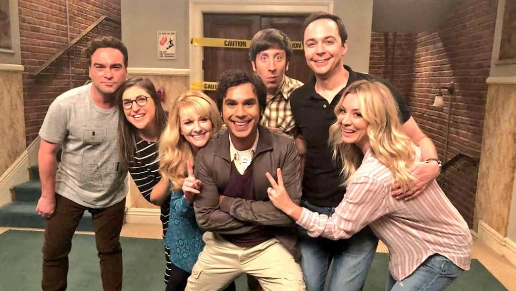 the big bang theory cast - cbs chuck lorre e bill prady