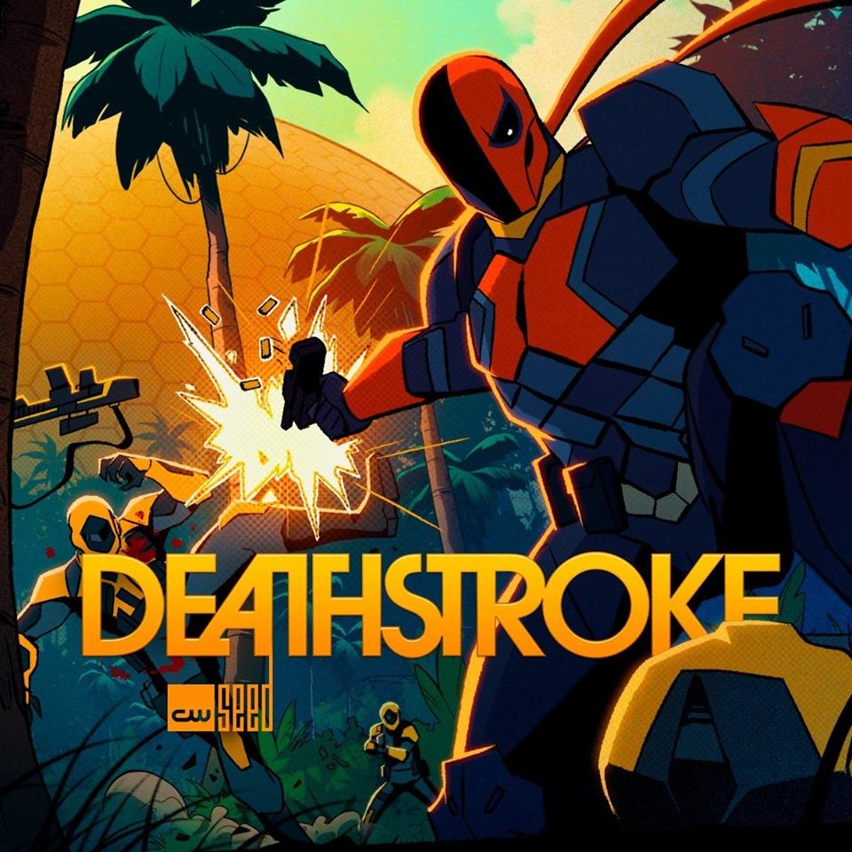 Deathstroke serie animata the cw
