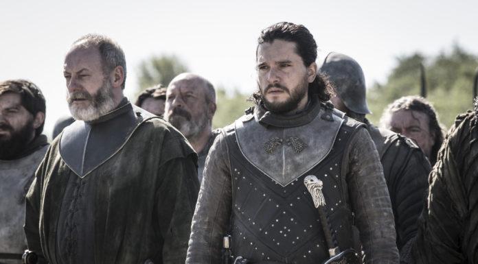 Jon Snow e Ser Davos Game of Thrones (Il Trono di Spade) foto episodio 8x05