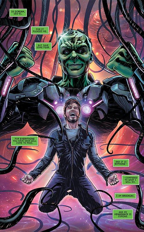 krypton fumetto syfy superman