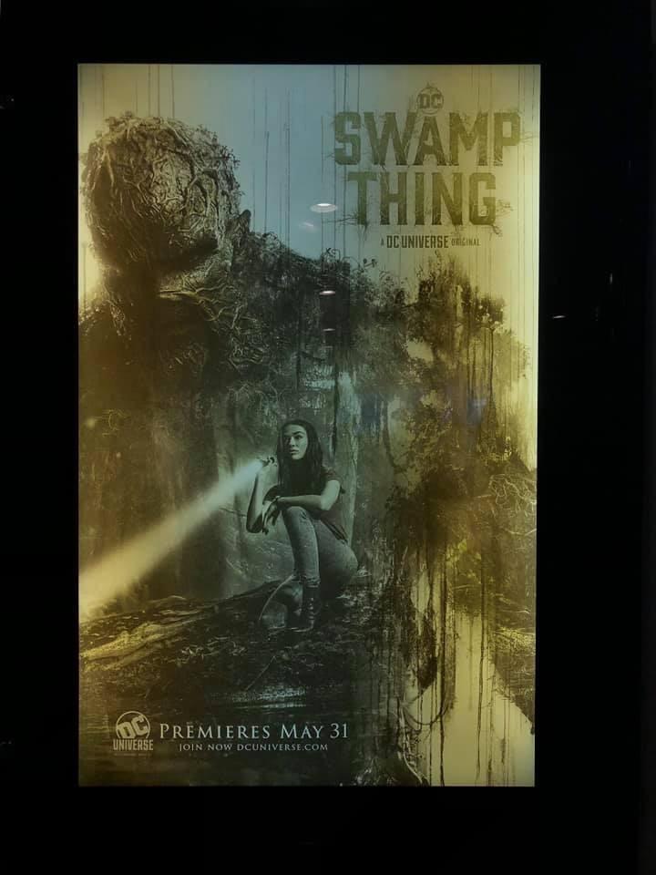 Swamp Thing DC universe Doom Patrol DC comics